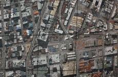 'Vertical Aerial, Johannesburg'. Gerhard Marx and Sam Nhlengethwa