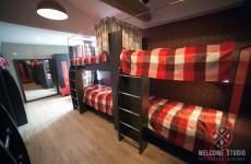 Smile Hostel I Комната London ракурс 4