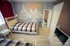 Smile Hostel I Комната Paris ракурс 1