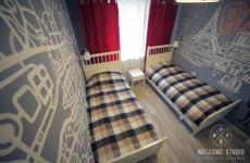 Smile Hostel I Комната Paris ракурс 2