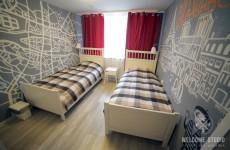 Smile Hostel I Комната Paris ракурс 3