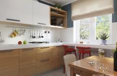 Кухня ракурс 1