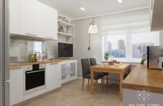 Кухня-прихожая ракурс 4